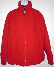 LL Bean Reversible Red Fleece Lined Winter Snow Ski Jacket Coat Men's XL