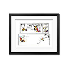 Calvin and Hobbes Let's Go Exploring Poster Print