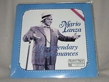 Mario Lanza His Legendary Performances 1986 Reader's Digest Sealed LP No Cutouts