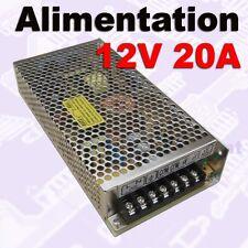 641/1# Alimentation à découpage 12V 20A -- alimentation LED