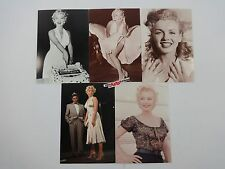 Lot of 5 Marilyn Monroe Collector Postcard for Classico San Francisco  Lot-01