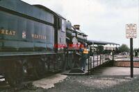 PHOTO  GWR LOCO NO 5051 AT DIDCOT 1980'S