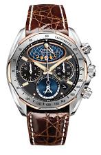 Citizen Moon Phase Flyback Signature Collection Men's Watch AV3006-09E