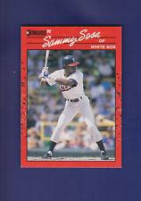 Sammy Sosa RC 1990 Donruss Baseball  #489 (NM+)