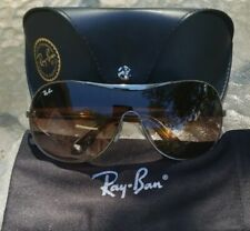Ray Ban RB3455L 004/13 Wrap gunmetal Sunglasses New Authentic