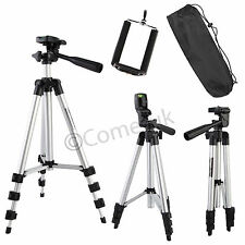 Professional Camera Tripod Stand Holder For Smart Phone iPhone Samsung DSLR Sony