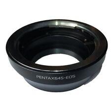 Bague d'adaptation objectif Pentax 645 vers boitier Canon EOS / EF