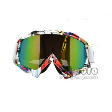 Motorcycle Motocross Dirt Bike Off Road Riding Goggles Windproof Anti-UV EyeWear