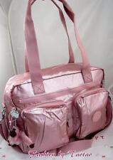 New w Tag Kipling Sasha Carry-On Tote Shoulder Bag w Furry Monkey