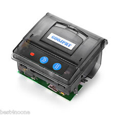 JP QR203 58mm Micro Receipt Thermal Printer RS232 / TTL + USB Panel Compatible