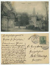 372256 - Forbach, Lothringen - Burghof - Ansichtskarte, gelaufen 13.10.1913
