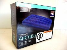 Living Solutions Twin Size Air Bed Comfortable Mattress Blow up