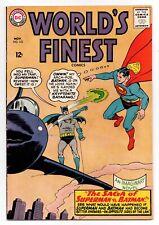 World's Finest Comics #153 (Nov 1965, DC) Batman slaps Robin, FN 6.0