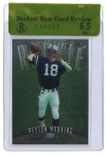 New listing 1998 Topps Finest Peyton Manning Rookie BGS Raw Card Gem Mint 9.5 #121 Colts RC