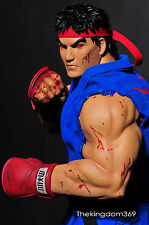 SIDESHOW Pop Culture 1/4 Street Fighter EVIL RYU custom statue Nt Akuma Zangief