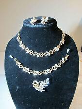 RARE Stunning Vintage Collection -Jewels By TRIFARI Krussman & Fishel- 5 piece