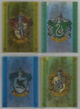 """Harry Potter Prisoner of Azkaban - """"House Badge"""" 4 Card Box-Topper Set #BT1-BT4"""