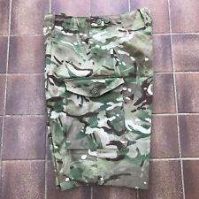 Genuine British Army MTP Multicam Camo Shorts Size 36ins