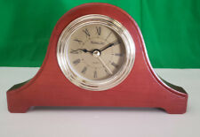 Wooden Michael C. Fina Fifth Avenue Small Mantel Clock New