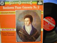 WILHELM BACKHAUS / Beethoven Piano Concerto No.2 / LONDON FFSS WB BB CS 6188, 1E