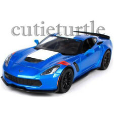 Maisto 2017 Chevy Corvette Grand Sport 1:24 Diecast Model Toy Car 34516 Blue