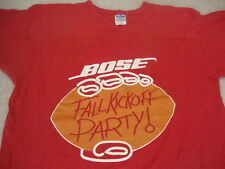 Vintage Bose Speakers Football Kickoff Party NCAA NFL jersey v neck T Shirt M