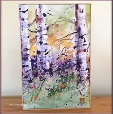 SPRING TREES PRINT ON CANVAS WALL ART BY DEAN CROUSER FREE U.S. SHIPPING