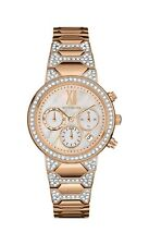 Wittnauer Women's Quartz Crystal Accents Rose Gold-Tone 32mm Watch WN4068