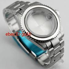 40mm Sapphire glass case for ETA 2836 Mingzhu 2813,3804 Miyota 82 + bezelx1,p620
