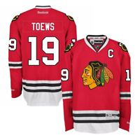 Jonathan Toews Reebok Chicago Blackhawks Official Home Red Premier Jersey Men's