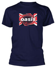 Oasis 'Union Jack' (Navy) T-Shirt - NEW & OFFICIAL!