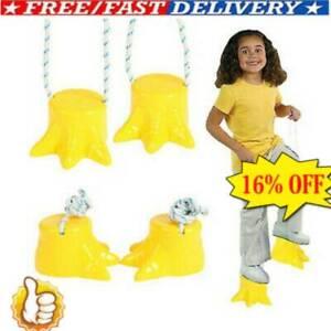 1x Feet Children Adjustable Stilts Dinosaur Foot Pot Style Kids Game Set