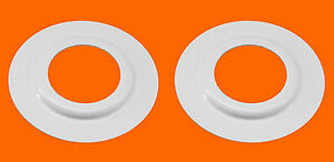 2x Metal Reducer Ring Plate Light Fitting Lampshade Washer Adaptor Converter
