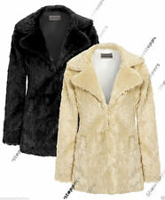 Hip Length Faux Fur Formal Coats & Jackets for Women