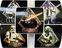 25 Star Wars Classic  Stickers Party Favors Teacher Supply Yoda Darth Vadar #2