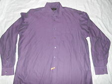 ALFRED DUNHILL LONDON IRIDESCENT LONG SLEEVE SHIRT SIZE XL BEAUTIFUL EXCELLENT.!