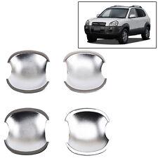 Fit For 2005-2009 Hyundai Tucson Chrome Cup Trim Door Handle Bowl Cover Cavity