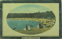 .RARE SYDNEY , BALMORAL BEACH NEW SOUTH WALES EARLY 1900'S POSTCARD