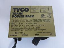 Vintage HO Scale Train Tyco Power Pack Transformer 18V DC 20V AC Model 899BP