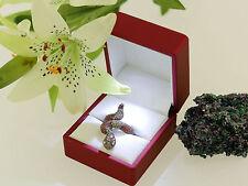 Ring Schlange Schlangenring snake Gold 750 diamond Diamant Saphir RW 53 top !
