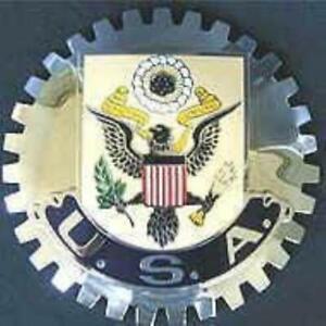 UNITED STATES AMERICAN EAGLE CAR GRILLE BADGE EMBLEM USA
