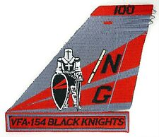 USN VFA-154 BLACK KNIGHTS TAIL PATCH