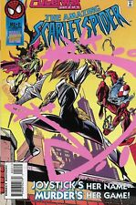 The Amazing Scarlet Spider #2 (Dec 1995 Marvel) Green Goblin & Joystick VF (8.0)