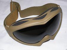 Sahara Goggles Coyote Tan Desert Fox Outdoor Eye Military Tactical Shatterproof