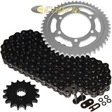 Black O-Ring Drive Chain & Sprockets Kit Fits YAMAHA R6 YZF-R6 2003 2004 2005