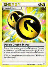 x4 Double Dragon Energy - 97/108 - Uncommon Pokemon XY Roaring Skies M/NM Englis