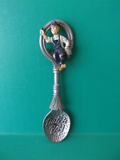 """Country Store Pewter Spoon Advertising """"Dutch Boy"""" 5""""In"""
