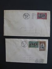 Canadian First Day Covers 1939 Royal Visit ( Lot of 2 )
