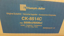 ORIGINALE Triumph-Adler UTAX TONER ck-8514c CIANO 1t02ndcta0 6006ci a-Ware