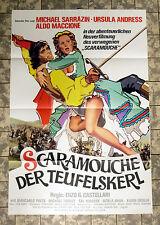 Scaramouche * Ursula Andress-a1-affiche cinema-Ger 1-SHEET'76 Sarrazin, MACCIONE